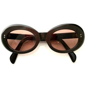 Authentic vintage 1960s Rose Tinted Glasses